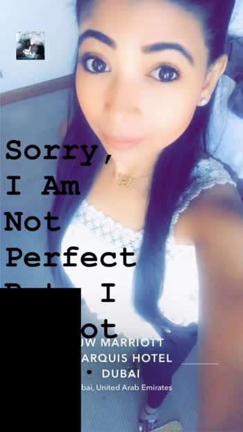 SORRY, I am not Perfect But, I am not Fake. 💞❤️  #quotes #attitude #potd #positivevibes #likes
