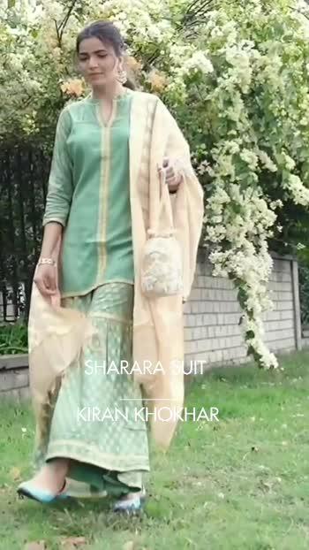 Indian wear styling - Sharara suit #kirankhokhar #styling  #indianwear  #indianoutfits  #desigirl #roposostar #roposorisingstar #roposoblogger #fashionblogger