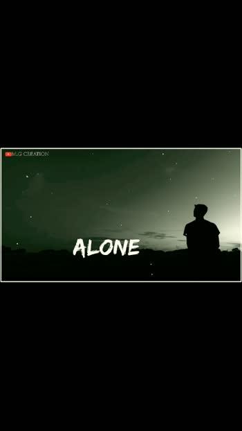 Alone #alone #sadstatus #foryou