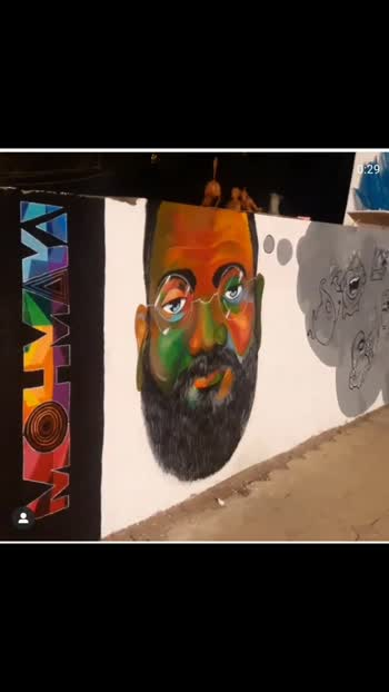 #art #artist #mohmaya #मोहमाया #acrylic #marathimulga #drawing #painting #wallart #wallartist #archi-artist #arch #clglife #clgmemories #architecturelovers #architecture