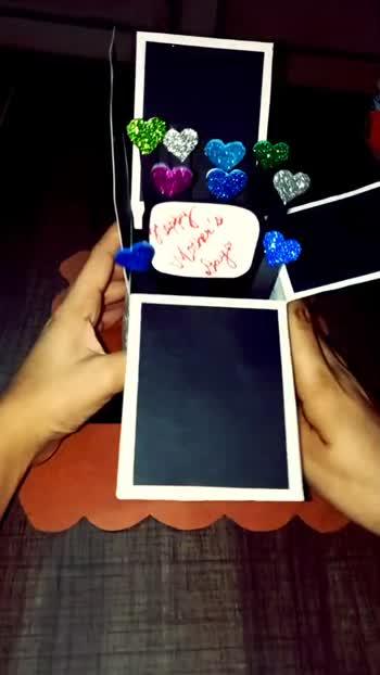 Pop-up greeting card🤩🤩🥀🥀 #twohearts #heartsday #creativelifehappylife #heartspace #mothersdaygifts #papercrafting #creativeprocess #mothersdaygift #creatives #heartshaped #kingdomhearts #tagify_app #handmadegifts #creativedirector #creativeart #mothersdaygiftideas #creativeagency #crafting #creativelife #creativeoptic #creativeminds #creativedesign #crafted #mothersday2020 #popupcard #heartshape #mothersdayspecial #craftedmixology #iseehearts