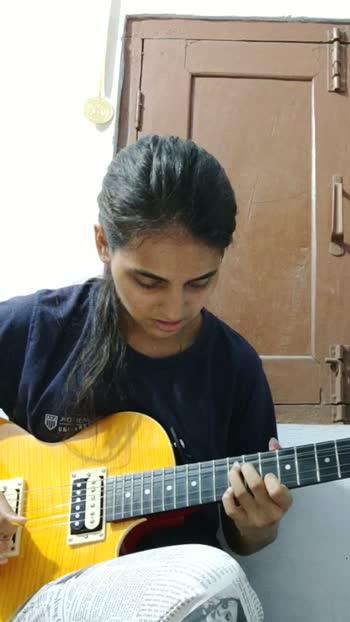 some rock genre music🎵🎵 #guitarcover #guitar #musician