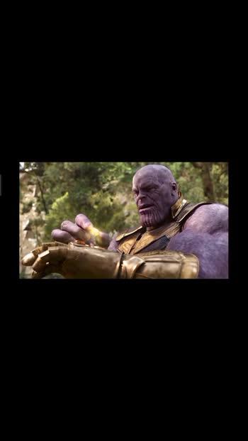 # Thanos get infinity stones