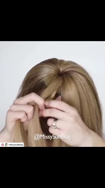 bun Hairstyle tutorial#hairstyle #hairstylist #hairstyleoftheday #roppsostar