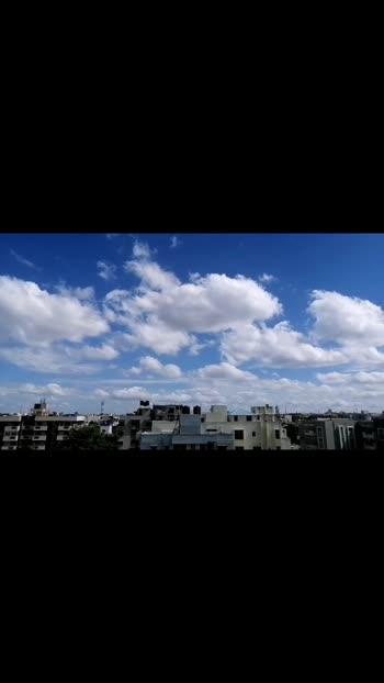 #cloud #sunnyday #bangalore