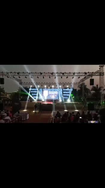 N.S LIGHTS #outdoor #college #talegaon #lightshow #lightdance #lights #roposo