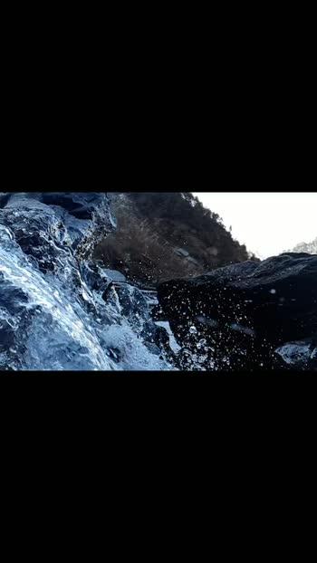 #himachalpradesh #waterfall #purewater #bliss