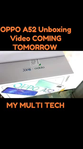 #oppo #a52#unboxing #first #look #2020 #specification