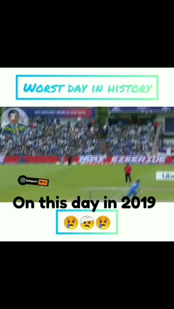 #indiacricket #badday #worldcup2019