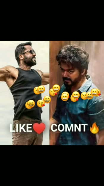 Surya v/s vijay voting start now 🔥
