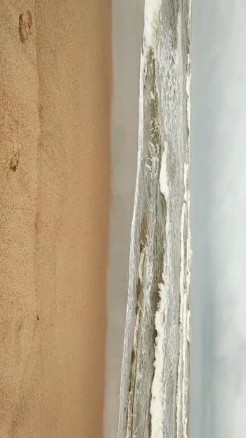 Morning Walking Time in Goa Calangute Beach.