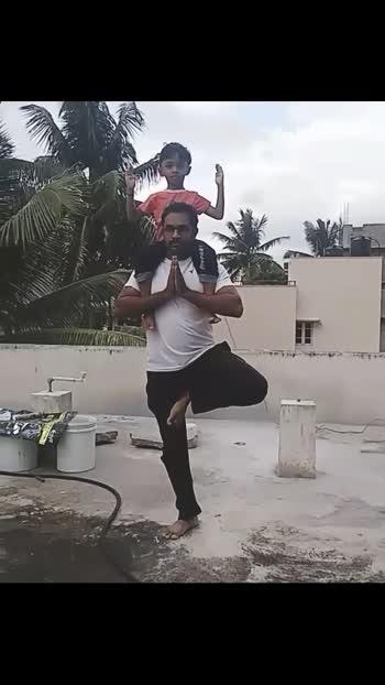 #yoga #fatherandson