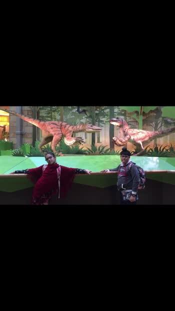 #londondiaries #science museum # valociraptor#memories# love#