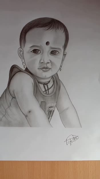 My Nephew..👼🏻  😘♥️Vihan♥️😍 My blessings and love are with you forever my baccha 😇 #mysketchingwork #Love #artwork #sketch #artlovers #sketches #instaart #pencilart #sketchart #portraitart #sketchwork #sketchskill #mood #confidence