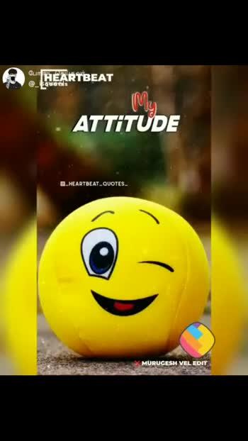 my attitued..