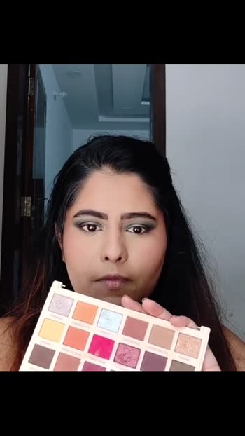 INDIAN GLAM  #makeuptutorial #risingstaronroposo #risingstar #makeulover #indianmakeupcommunity #indianmakeupblogger