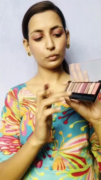 Pink eyeshadow look  #pinkeyeshadow  #ayeshatheglamgirl #roposostar
