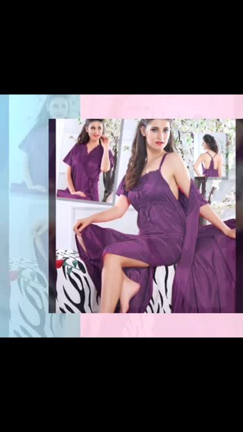 price - 450rs+delivery charge  fabric- satin size - free size(upto 36to42 in) delivery all over India  WhatsApp no. - 8851259443 #nightdress #nightdresses #vasucollection #vasutraders #nightsuitforgirls