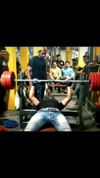#benchpress 100kg