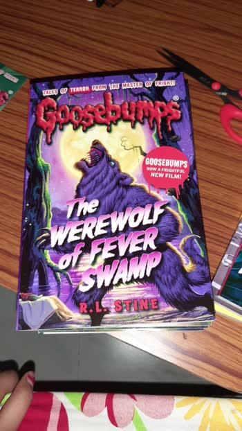 # I love goosebumps # R.L Stine # Bookworm