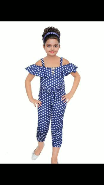 *Rayon Jumpsuits* Age ..3 to 7 years 6 Rs. 640.