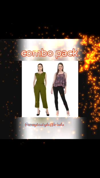 """*Catalog Name:* Women's Rayon Top and Jumpsuit Set Vol 1  *Details:* Description: It Has 1 Piece of Top and Jumpsuit Material: Rayon Jumpsuit Size Chest Measurements (In Inches): S-36, M-38, L-40, XL-42 Top Size Chest Measurements (In Inches): S-36, M-38, L-40, XL-42 Jumpsuit Length (In Inches): 51"""" Top Length (In Inches): 23"""" Jumpsuit Sleeve: Sleeveless Top Sleeve: Sleeveless Jumpsuit Work: Solid Top Work: Solid Designs: 9  💥 *FREE Shipping*  💥 *FREE COD*  ____________________________________________ #waytostylofficials #reseller #resellerindia #indianreseller #jumpsuit #jumpsuits #jumpsuitstyle #jumpsuitmurah #jumpsuitimport #jumpsuite #jumpsuitehijab #jumpsuitpendek #jumpsuitbayi #jumpsuitph #jumpsuitpanjang #jumpsuitjumbo #jumpsuitpremium #jumpsuitanakmurah #jumpsuithitam #jumpsuitbabygirl #jumpsuitset #jumpsuitkeren #jumpsuitready #jualjumpsuit #jumpsuitbatik"""