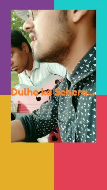 Dulhe ka Sehera... #nusratfatehalikhan #dhadkan #originalsound #singinglove #guitarlove #akshaykumar #shilpashetty #guitarcover #foryou
