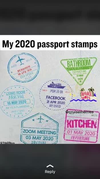 To kuch aesa h 2020 ka Travel Mode #travelmode #trending #2020goals #roposoindia #roposorisingstar #travelmode