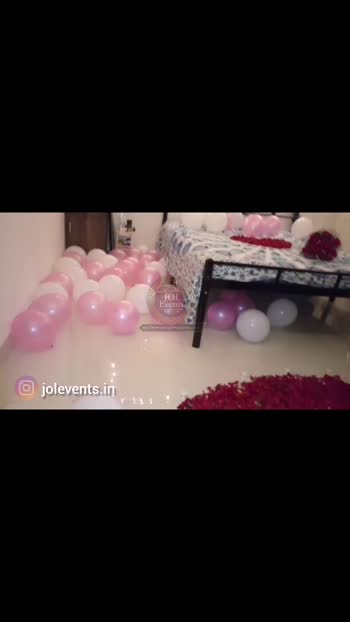 Best Marriage Proposal Ever. Plan a romantic room decoration for wedding proposal. Decoration services at your doorstep. We will decorate your room with romantic decoration items like balloons, rose petals, candles, lightings, flowers, danglers, colorful foil balloons and many more. We will suggest you decoration ideas as per your home interior. Plan a romantic surprise for him or her on their birthday, anniversary, first night, marriage proposal. 📲8459776398 👉Watch more videos on our YouTube channel @JOL EVENTS  Marrige proposal room decoration ideas Romantic room decoration ideas  Birthday room decoration ideas  Balloon decoration at home  Simple birthday decoration using balloons  Happy birthday room decoration  Anniversary Decoration at home Anniversary surprise decoration for husband  Romantic room decoration for wedding anniversary  Wedding night bedroom decoration  First night bedroom decoration ideas Rose petals path and heart with candles  Birthday surprise room decoration  Romantic room decoration for birthday  How to decorate a room for Birthday  Romantic canopy setup for marriage proposal  Canopy bed decoration at home for birthday  Wedding night bedroom decoration ideas   #birthdaysurprise #roomdecoration #romanticdecoration #surprisedecoration #housedecoration #homedecoration #love #balloondecoration #pune #jolevents