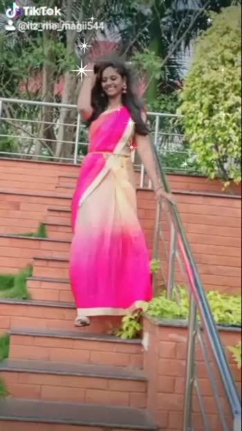 🌸🌸🌸 #risingstar #saree#smilesmilesmile#firstvideoonroposo