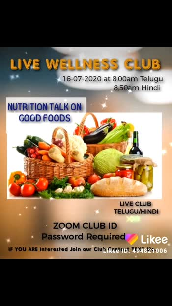 Tomorrow We are going to Discuss Fantastic topic in our Wellness Club is About  GOOD FOOD......  Don't Hesitate to Contact Me.....   Wellness Coach NAGARAJU 9502706844 . . @prilaga #prilaga #healthyfoodjakarta #healthyfoodblog #healthyfoodblogger #healthyfoodshare #healthyfoodideas #healthyfood #nagarajumaddali #healthyfoodchoice #healthyfoodie #healthyfoodchoices #healthyfoods #healthyfoodrecipes #healthyfoodinspo #healthyfoodlove #healthyfoodpics #healthyfoodforkids #healthyfoodadvice #healthyfoodsharing #healthyfoodwithme #healthyfoodlifestyle #healthyfoodbandung #healthyfoodsurabaya #healthyfoodeating #healthyfoodpost #healthyfoodlover #livewellnessclub #healthyfoodies