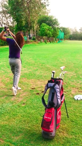 #golfcourse #roposostar #yogalove #yogateacher #trendingvideo #risingstaronroposo #practicetime
