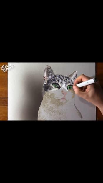 #dog #dog #dog #dog #dog #dog #like #followme #crazy #cat #studio #roposostar #drawingoftheday