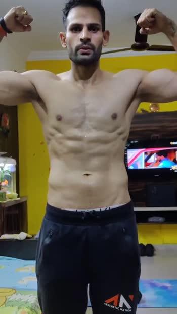 Home workout 💪 #jaatitude #fitnessmodel #fitnessmotivation #gabru #jaatinbollywood #bollywoodactor #rahuulchwudhary
