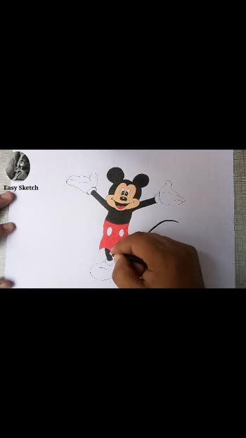 #fineart #artlovers #mickeymouse  #sketch