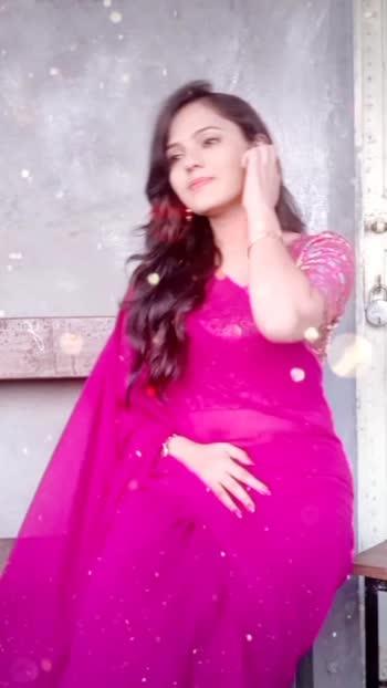 #sundarsundar #rhtdm #sareelove #saree #pink #beautifulgirl #gorgeousgirl #poojajaiswal #roposostars