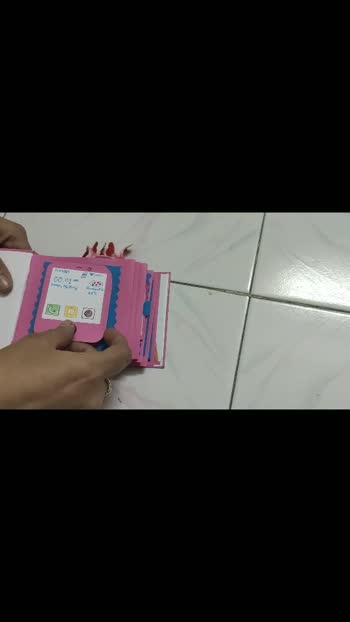 #scrapbook #giftcard #gift #card #creativespace #creative-channel #anniversarygifts @kshitijmaheshwari