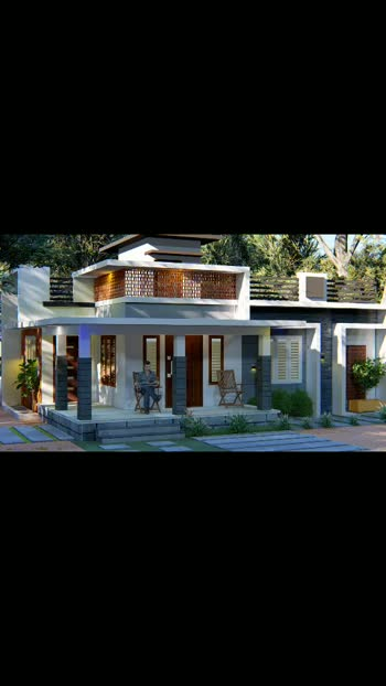 1259 sqft 3bhk home designs.. #b_arts_architects
