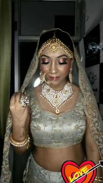#bridalmakeup #glamlook #indianmakeupartist