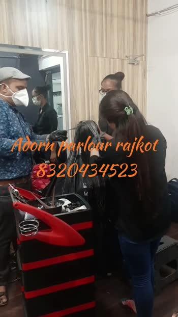 #rajkot #hair #hairstraightening #hairprotin #haircut #beautyparlour #beautyprodect#hair #hairstyles #hairdos