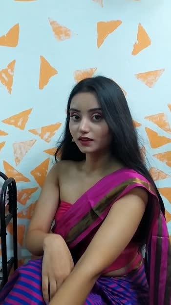 Saree Indowestern look