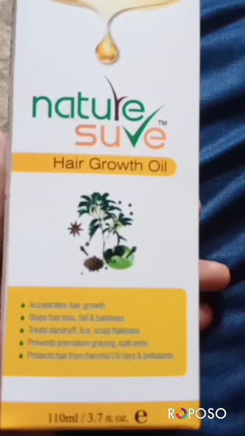 #naturesure #hairgrowthoil #wetanddry