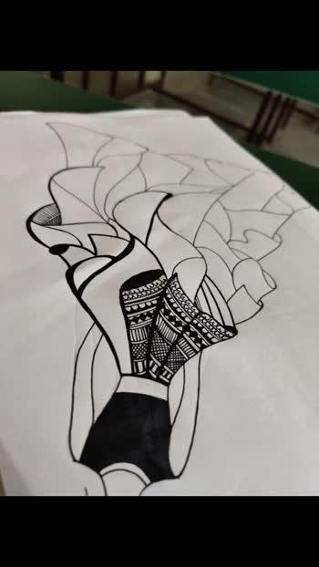 #lehangalookbook #mandaladesign #artlovers #punjabisongslover