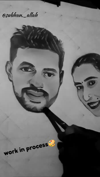 #workinprogress #bestcouple #punjabicouble #portrait #portraitsketching #art #artist #pencilsketch