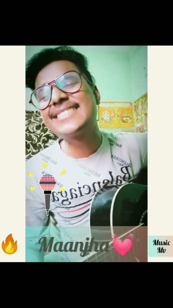 New Guitar cover Song. like share nd follow for more.  #maanjha #vishalmishra #guitarcover #songs #bollywood #starchannel #statusvideo #viral #trending #singingsuperstar #singers #music #videosong #stayhome #followme #like #commentbelow