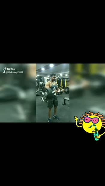 start your workout with me  #bodybuilding #bodybuildingmotivation #roposostar #musclemodel