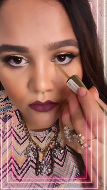 under 250rs New makeup video on my youtube channel :-kaamini rajput @roposocontests #mymakeup
