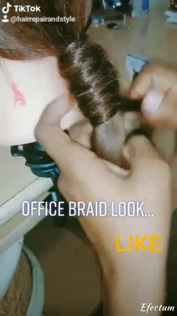 #roposo #foryou #foryoupage #fyp #edutok #braids #braidstyles