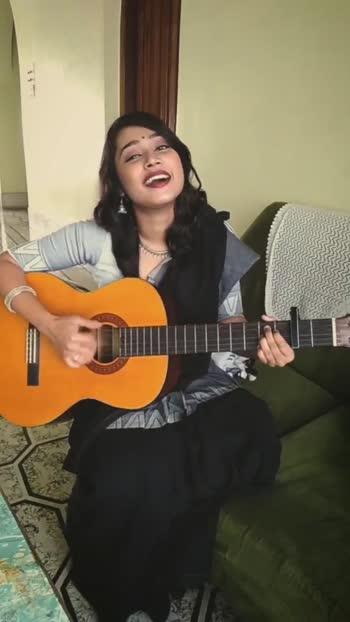 ethnics and guitar #singingstar