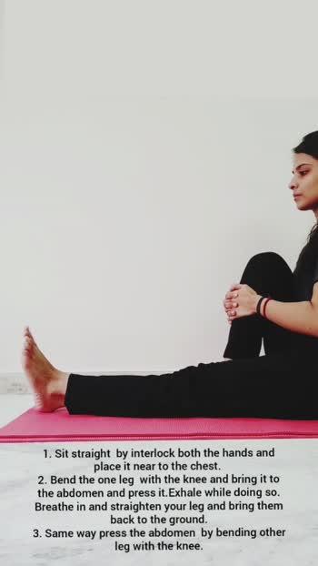 knee Exercise #yoga #yogalove #yogainspiration #yogaeveryday #yogablogger #fitness #fitindia #fitnessblogger #fitnessgoals #risingstar #risingstaronroposo #roposostar #roposo #yogaathome #yogaaddict #yoga4roposo